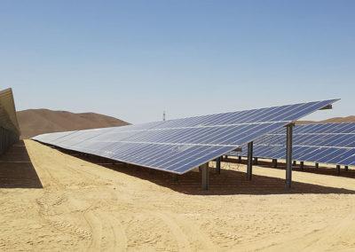 Impianto fotovoltaico Medio Oriente