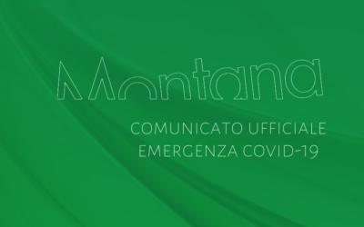 Comunicato Ufficiale: Emergenza COVID-19