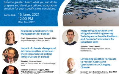 """Webinar """"Protecting Europe's Assets from Climate Change Impacts"""""""